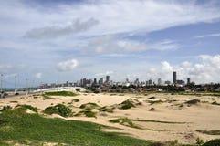 Dunas de areia em natal, o Rio Grande do Norte (Brasil) Fotos de Stock