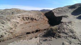 Dunas de areia estéreis fotografia de stock
