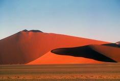 Dunas de areia gigantes Fotografia de Stock
