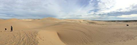 Dunas de areia Mui NÐ? Foto de Stock