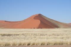 Dunas de areia, Namíbia Fotos de Stock Royalty Free