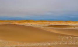 Dunas de areia namibianas Imagem de Stock