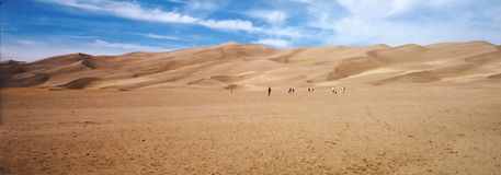 dunas de areia New mexico do deserto Foto de Stock Royalty Free