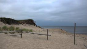 Dunas de areia no bacalhau de cabo imagens de stock