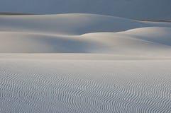 Dunas de areia no console de Socotra fotografia de stock