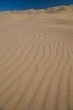 Dunas de areia no deserto Foto de Stock