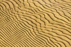 dunas de areia Secundário-aquosas Foto de Stock
