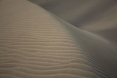 Dunas de areia, texturas diferentes, Maspalomas, Gran Canaria Imagem de Stock Royalty Free