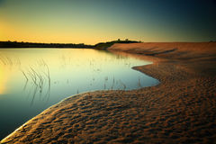 Dunas de arena imágenes de archivo libres de regalías