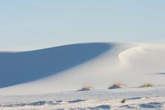 Dunas de arena blancas Foto de archivo