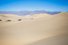 Dunas de arena de Death Valley foto de archivo