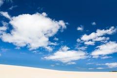 Dunas de arena de Henty Tasmania Fotografía de archivo libre de regalías