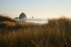 Dunas de arena de la playa del cañón Fotografía de archivo libre de regalías