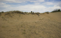 Dunas de arena de Saskatchewan Imagen de archivo