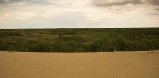 Dunas de arena de Saskatchewan Imagen de archivo libre de regalías