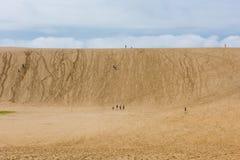 Dunas de arena de Tottori en Tottori, Japón Foto de archivo libre de regalías