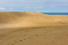 Dunas de arena de Tottori en Tottori, Japón Fotos de archivo