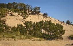 Dunas de arena de Warren imagen de archivo libre de regalías