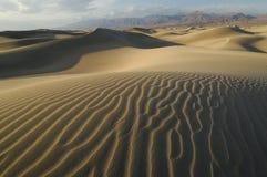 Dunas de arena Death Valley Imágenes de archivo libres de regalías