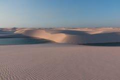 Dunas de arena del Brasil Imágenes de archivo libres de regalías