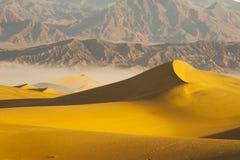 Dunas de arena del desierto Fotografía de archivo libre de regalías