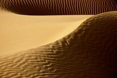 Dunas de arena del desierto de Sáhara. Imagenes de archivo