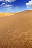 Dunas de arena del desierto en Maspalomas Gran Canaria Fotografía de archivo