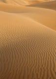 Dunas de arena del desierto en Maspalomas Gran Canaria Fotos de archivo libres de regalías