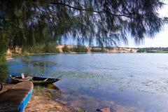 Dunas de arena del Ne de Mui Foto de archivo libre de regalías
