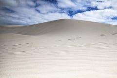 Dunas de arena en Cabo Verde Imagen de archivo