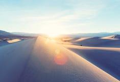 Dunas de arena en California Imagen de archivo libre de regalías