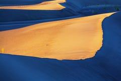 Dunas de arena en California Fotos de archivo libres de regalías