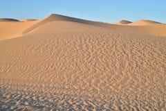 Dunas de arena en el área recreativa imperial de las dunas de arena, California Foto de archivo