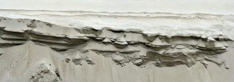 Dunas de arena en el océano de la playa imagen de archivo libre de regalías