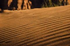 Dunas de arena en el rastro del Hellhole de Kayenta Imagenes de archivo
