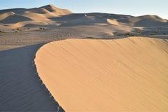 Dunas de arena en las dunas de arena imperiales, California, los E.E.U.U. Imagenes de archivo