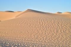 Dunas de arena en las dunas de arena imperiales, California, los E.E.U.U. Imágenes de archivo libres de regalías