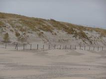 Dunas de arena en los Países Bajos fotos de archivo