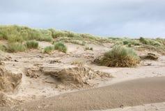 Dunas de arena en Morfa Bychan imagen de archivo libre de regalías