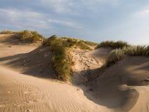 Dunas de arena en Ynyslas fotos de archivo libres de regalías