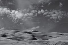 Dunas de arena imperiales Imagenes de archivo