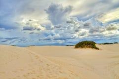 Dunas de arena, Lencois imagen de archivo libre de regalías