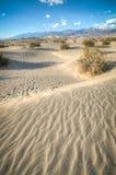 Dunas de arena naturales de Death Valley Foto de archivo