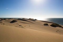 Dunas de arena Ningaloo Fotos de archivo libres de regalías