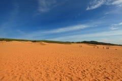 Dunas de arena rojas, Mui Ne, Vietnam Fotografía de archivo libre de regalías