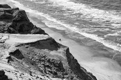 Dunas de arena de Rubjerg Knude Foto de archivo libre de regalías
