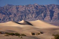 Dunas de Death Valley Imágenes de archivo libres de regalías