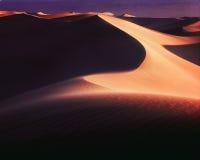Dunas de Death Valley, mañana Fotografía de archivo libre de regalías