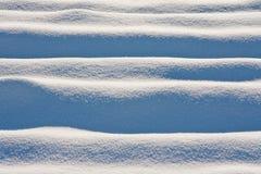 Dunas de la nieve Imagenes de archivo