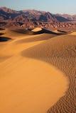 Dunas de la puesta del sol Fotografía de archivo libre de regalías